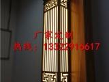 新中式仿云石壁灯 电镀拉丝高端壁灯 泰禾院子园林项目壁灯
