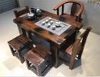 厂家直销仿古功夫茶几船木茶桌椅组合老船木中式茶台