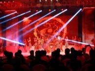 佛山舞台搭建,出租音响、灯光、舞台启动球、背景桁架