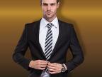 男士西服套装 新婚礼服 韩版修身休闲西装套装 时尚商务西装男