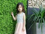 女童连衣裙纯棉夏天新款韩版儿童装潮春秋中大童洋气公主裙子
