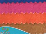 恒义纺织现货高档服装皮革皮具 PU纹人造革 PU革皮料