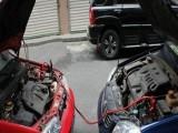 珠海金湾流动补胎,24小时搭电更换电池,拖车送油