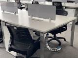 大量出售回收二手办公家具老板桌椅开放式办公桌椅