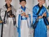 幼儿女童儿童古装书童服汉服国学三字经弟子规舞蹈演出服表演服装