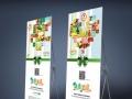 广告门面设计,门头背景墙设计制作,名片彩页印刷