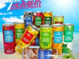 泰国原装进口CHABAA芭提娅/芭提雅果肉果汁饮料230ML*