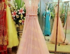 低价转让全新韩版高级定制裸粉色婚纱一套