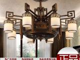 厂家批发新中式负离子吊扇灯 隐形风扇灯L