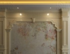 前景艺术背景墙、罗马柱加盟 瓷砖背景墙 罗马柱