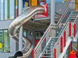 公园儿童户外不锈钢滑梯厂家定制 大型幼儿园滑梯