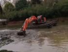 内江水路挖掘机出租沼泽地挖掘机租赁江南品质出众