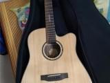 施耐尔面单吉他SC-70CL,民谣吉他
