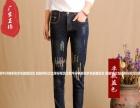 黑龙江牛仔裤尾货批发市场便宜地摊牛仔裤时尚韩版牛仔裤