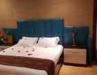 宾馆家具电视桌酒店家具标间全套定制桌椅床头软包单间客房床