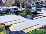 私家庭院设计及施工,假山鱼池,凉亭