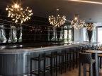 创意酒店工程灯饰白色叶子KTV酒吧灯具