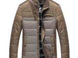 2013年冬季新款羽绒服黑色 厂家直销 男装批发 服装厂家