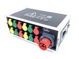 12路电源直通箱灯光音响LED屏配电柜 6路电源盒 质优价廉