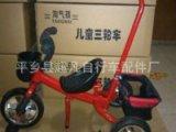 批发供应儿童手推车脚踏车带推把三轮车玩具车儿童健身车厂家直销