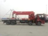 北京市货车带吊哪里有卖东风自备吊,自臂吊