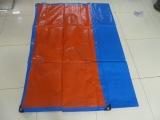 蓝橘色全新料耐用汽车防水篷布货物盖布可定做经久耐用