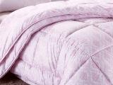 热卖南通家纺 珠光浆子母被冬被 加厚保暖被子被芯春秋被纤维被