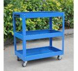 银龙工具柜 可定制10KG自重工具车 上海宝钢40kg/层手推工具车