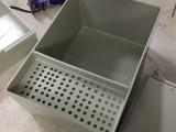 专业焊接pp水槽加工灰色耐酸碱酸洗槽PP耐老化过滤箱