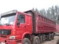 豪沃375自卸工程车