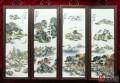 刘雨岑瓷板画近期市场价格如何