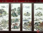 北京珠山八友瓷板画市场交易价格怎么样