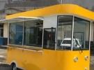 厂家定制多功能移动快餐车美食车四轮巴士餐车移动早餐车16800元