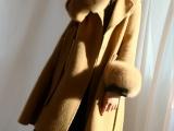 现货反季阿尔巴卡新款羊驼绒双面羊绒大衣品牌折扣尾货批发