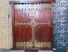 原生态实木门复古中式庭院门复古别墅大门进户门