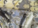 厂家直销新品经编布高档绒布烫金台板印花沙发布料装饰布