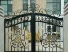 别墅庭院草坪铁艺铜艺护栏,大门设计安装翻新