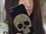 iphone4/4s 骷髅头手机壳 骷髅头手机保护套 苹果5 5