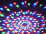 促销Led七彩舞台灯 旋转水晶声控闪灯串灯满天星喜庆装饰圣诞灯