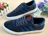 新款潮流纯色板鞋 韩版潮鞋男士帆布休闲鞋 时尚英伦男鞋A118