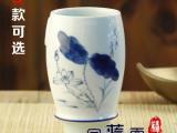 厂家直销 手绘青花瓷口杯随手杯个人杯 主人杯 创意陶瓷杯