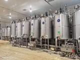长期回收二手不锈钢乳品发酵罐 老化罐 储奶罐