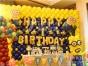 专注南昌宝宝宴策划、满月百天气球布置、周岁生日气球