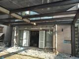阳光房 雨棚 阁楼夹层彩钢房搭建及制作
