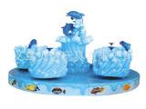 海洋之星转椅¥儿童游乐场设备¥户外大型旋转飞椅电动BD-3147