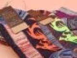 外贸粗线短袜子 男士原单民族风船袜潮 龙形底纹潮男袜9122