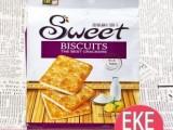 进口零食 马来西亚EKE牌甜脆苏打饼干