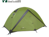 牧高笛正品 防风防暴雨 双人帐 双层三季铝杆帐篷 风范2AIR