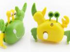 发条螃蟹 上链螃蟹 会走路的螃蟹 婴儿儿童宝宝玩具