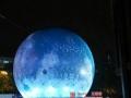 发光月亮发光玉兔道具租赁